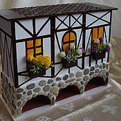 Для дома и интерьера ручной работы. Ярмарка Мастеров - ручная работа Чайный дом Фахверк. Handmade.