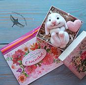 Куклы и игрушки handmade. Livemaster - original item Needle Felted Bunny. Handmade.