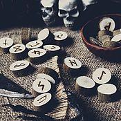 Фен-шуй и эзотерика ручной работы. Ярмарка Мастеров - ручная работа Набор скандинавских рун (Ива). Handmade.