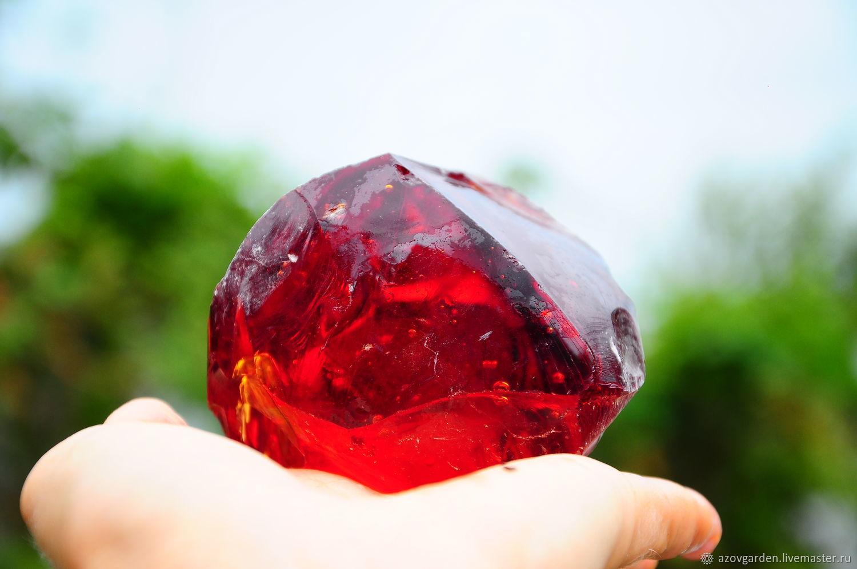 Erklez bulk amber glass, chunks of glass, rocks glass, Products, Azov, Фото №1