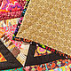 """Текстиль, ковры ручной работы. Лоскутное покрывало в стиле пэчворк """"Калейдоскоп"""". #МамаШьёт. Ярмарка Мастеров. Одеяло, печворк одеяло, квилтинг"""