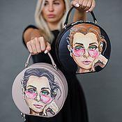 Сумки и аксессуары handmade. Livemaster - original item Handbag painted ANDREA. Handmade.