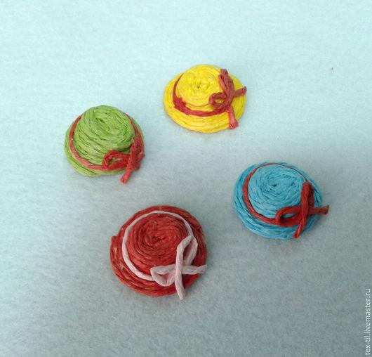 Куклы и игрушки ручной работы. Ярмарка Мастеров - ручная работа. Купить Шляпа для кукол и игрушек. Handmade. Ярко-красный