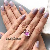 Украшения handmade. Livemaster - original item Ring wild Violet fluorite, purple stone ring beautiful stylish. Handmade.