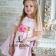 Одежда для девочек, ручной работы. Платье детское look 60 с дизайнерским поясом. Дарья (LadyLook). Ярмарка Мастеров. Хлопок