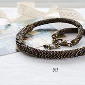 Украшения handmade. Livemaster - original item Necklace Bronze beads. Handmade.