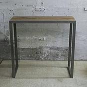 Для дома и интерьера ручной работы. Ярмарка Мастеров - ручная работа Консоль из дуба в стиле Лофт. Handmade.