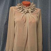 Одежда ручной работы. Ярмарка Мастеров - ручная работа Блуза в горошек.. Handmade.