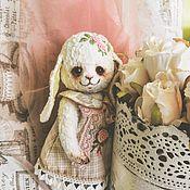 """Куклы и игрушки ручной работы. Ярмарка Мастеров - ручная работа Плюшевая зайка """"Люся"""". Handmade."""