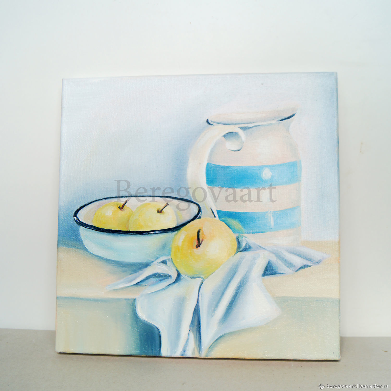 Oil painting apples 30h30cm, Pictures, St. Petersburg, Фото №1