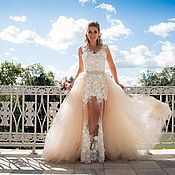 Свадебный салон handmade. Livemaster - original item dresses: dresses: Wedding dress transformer. Handmade.