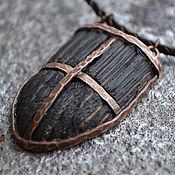 Субкультуры handmade. Livemaster - original item Knight magic pendant, necklace, medieval amulet shield gothic cosplay. Handmade.