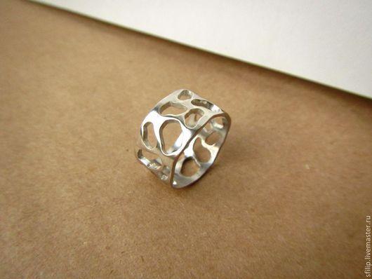 """Кольца ручной работы. Ярмарка Мастеров - ручная работа. Купить Кольцо """"Serebro"""" - серебро 925. Handmade. Серебряный, стильное кольцо"""