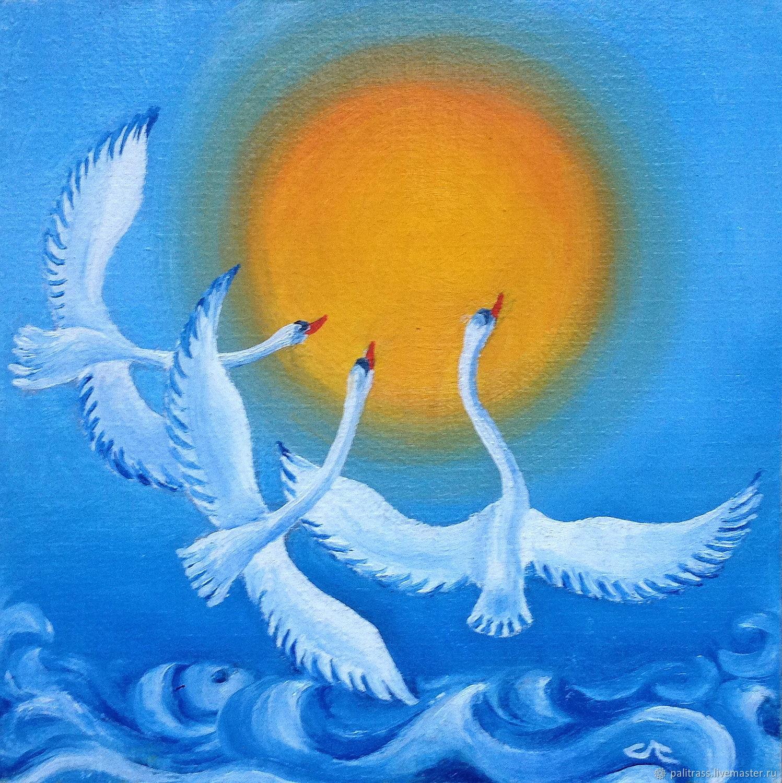 Танец лебедей, Картины, Воронеж,  Фото №1