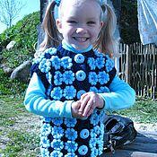Одежда ручной работы. Ярмарка Мастеров - ручная работа Детская безрукавка. Handmade.