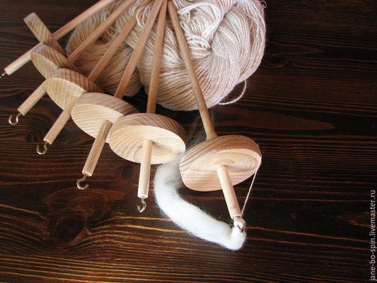 Другие виды рукоделия ручной работы. Ярмарка Мастеров - ручная работа. Купить Веретено подвесное среднее, бук, 50г. Handmade.