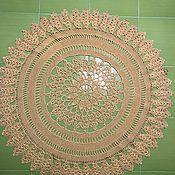Изделия ручной работы. Ярмарка Мастеров - ручная работа Ковёр из бечёвки. Handmade.