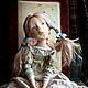 Коллекционные куклы ручной работы. Молчунья с бантиками. Мурашова Наталья. Интернет-магазин Ярмарка Мастеров. Болтушка, living doll