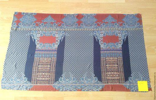 Шитье ручной работы. Ярмарка Мастеров - ручная работа. Купить Шёлковый лоскут Византийская царица 140 см ширина. Handmade.