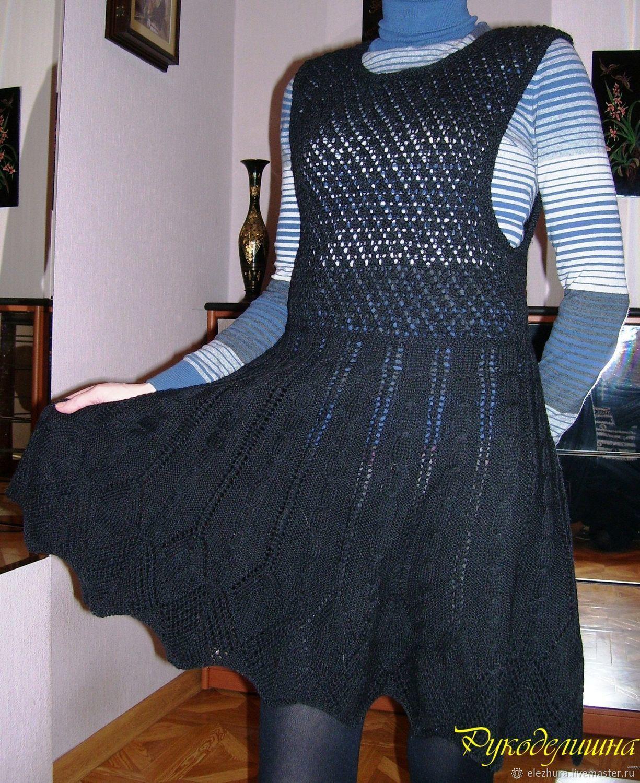 9c650e34929 Платья ручной работы. Ярмарка Мастеров - ручная работа. Купить Сарафан  ажурный теплый.