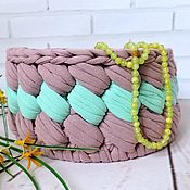 Для дома и интерьера handmade. Livemaster - original item Interior basket. Handmade.
