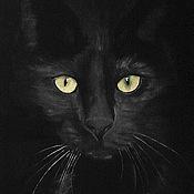 Картины и панно ручной работы. Ярмарка Мастеров - ручная работа Сквозь ночь (картина). Handmade.