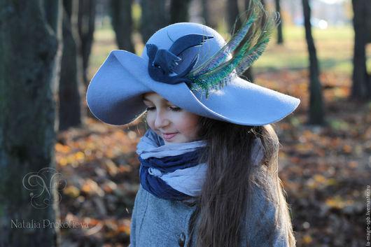 """Шляпы ручной работы. Ярмарка Мастеров - ручная работа. Купить Детская шляпа """"L'oiseau de Bonheur"""" (Птица Счастья). Handmade."""