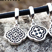 Украшения handmade. Livemaster - original item Charm with Slavic pattern. Silver 925 art. One million eleven thousand three hundred five. Handmade.