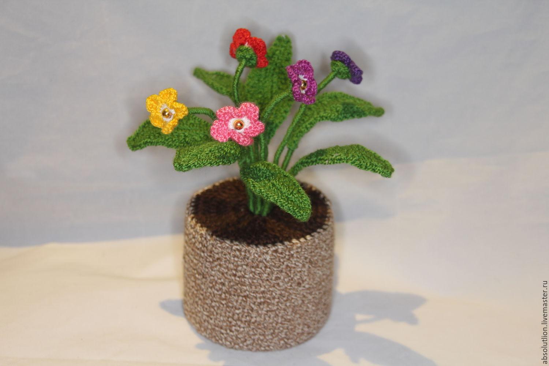 цветы в горшке купить в интернет магазине на ярмарке мастеров с