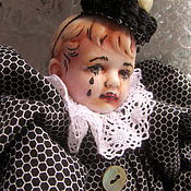 Куклы и игрушки ручной работы. Ярмарка Мастеров - ручная работа Пьеро Нуар. Handmade.