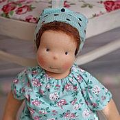 Куклы и игрушки ручной работы. Ярмарка Мастеров - ручная работа Наденька (47см)  - игровая  вальдорфская кукла  для девочки. Handmade.