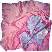 Аксессуары handmade. Livemaster - original item Batik Shawl Soft. Handmade.