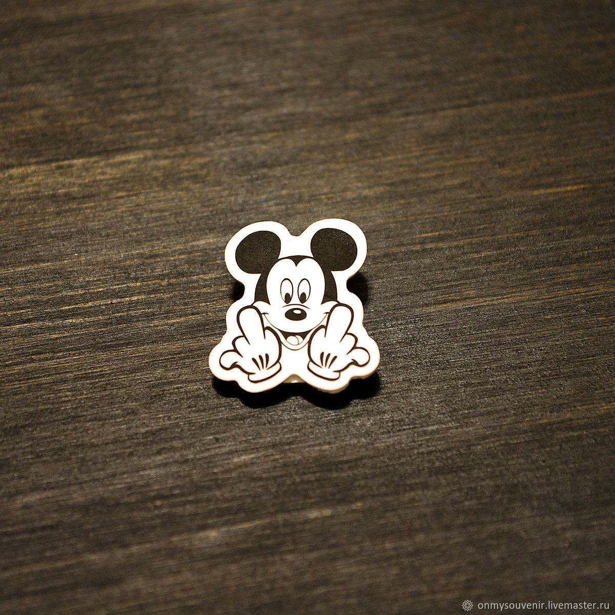Mickey Mouse Icon', Badge, Voronezh,  Фото №1