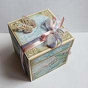 """Свадебный салон ручной работы. Ярмарка Мастеров - ручная работа Magic box """"Wedding day"""". Handmade."""