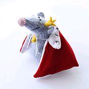 Мягкие игрушки ручной работы. Ярмарка Мастеров - ручная работа Мышиный король. Handmade.