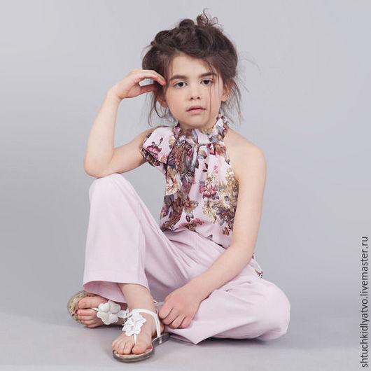 Одежда для девочек, ручной работы. Ярмарка Мастеров - ручная работа. Купить Шикарный комбинезон для леди. Handmade. Комбинированный, одежда для девочек
