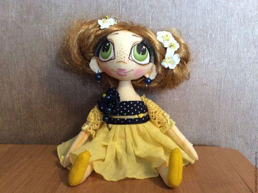 Ароматизированные куклы ручной работы. Ярмарка Мастеров - ручная работа. Купить текстильная кукла. Handmade. Кукла текстильная, для девочки