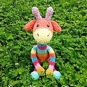 Куклы и игрушки ручной работы. Ярмарка Мастеров - ручная работа Радужный Жираф Плюш. Handmade.