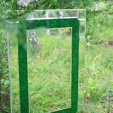 Для дома и интерьера ручной работы. Ярмарка Мастеров - ручная работа Зеркало в экостиле. Handmade.