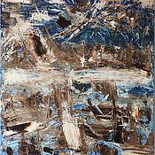 Картины и панно handmade. Livemaster - original item Abstract oil painting on canvas 40H60. Handmade.