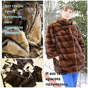 Материалы для творчества handmade. Livemaster - original item Seal coats. fur clean.. Handmade.