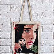 Сумки и аксессуары handmade. Livemaster - original item Painting of the shopper