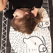Для дома и интерьера ручной работы. Ярмарка Мастеров - ручная работа Подушки с лесными животными в скандинавском стиле.. Handmade.