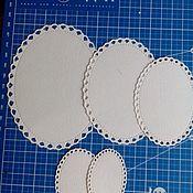 Вырубки для скрапбукинга ручной работы. Ярмарка Мастеров - ручная работа Вырубки для скрапбукинга: овалы,теги,круги. Handmade.