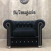 Для дома и интерьера handmade. Livemaster - original item Chesterfield chair. Handmade.