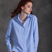 Одежда ручной работы. Ярмарка Мастеров - ручная работа Блузка SS blue. Handmade.