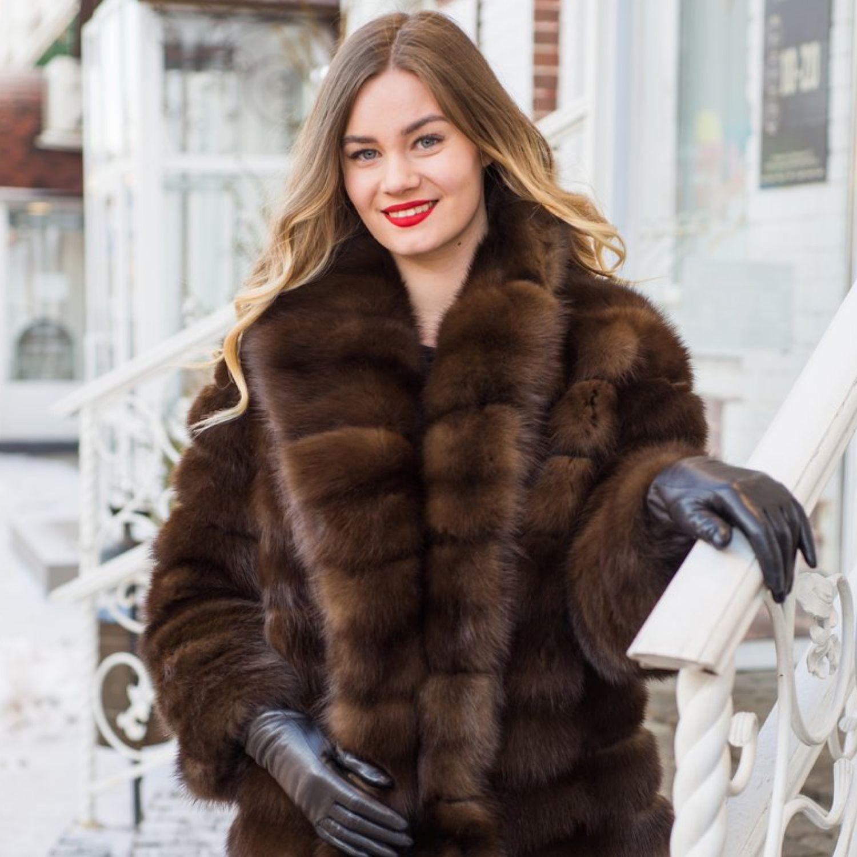 The fur of the marten. A jacket of marten. Marten. The jacket of marten, Fur Coats, Kirov,  Фото №1
