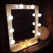 Для дома и интерьера handmade. Livemaster - original item Make-up mirror. Handmade.
