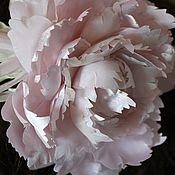 Свадебный салон ручной работы. Ярмарка Мастеров - ручная работа Пион бледно-розовый. Handmade.
