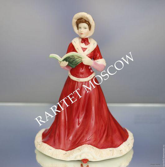 Винтажные предметы интерьера. Ярмарка Мастеров - ручная работа. Купить Девушка книга рождество Royal Doulton Англия 38. Handmade.